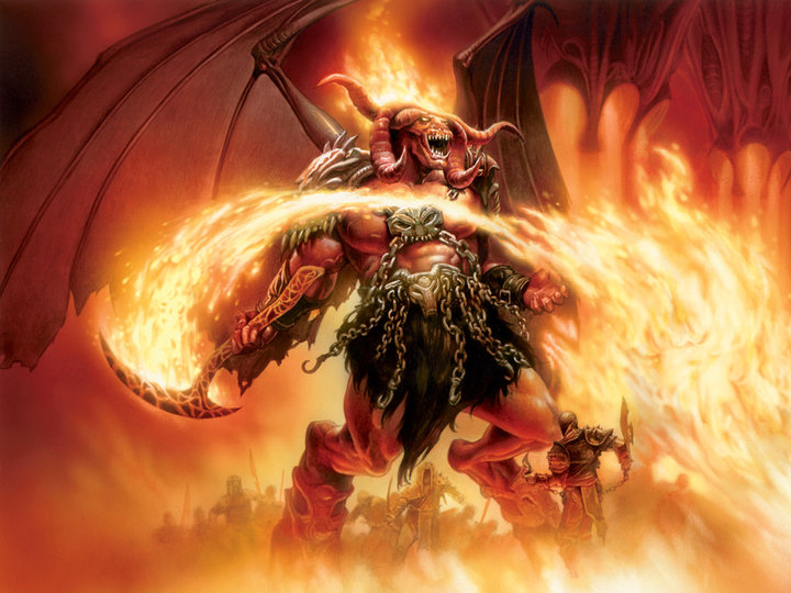 perwajahan iblis