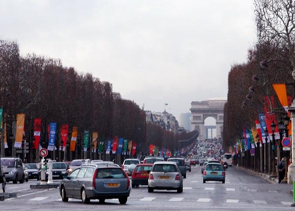 Kemacetan di Paris pada 16 Februari 1980